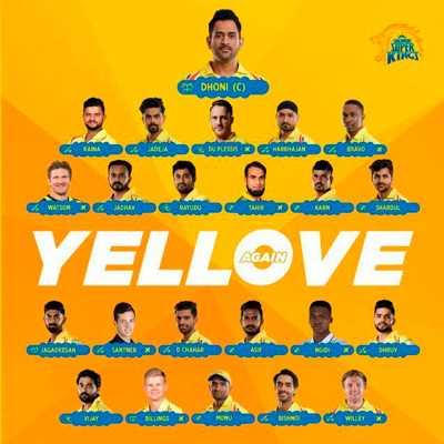 Chennai Super Kings Fans whatsapp group